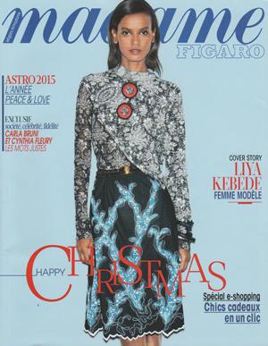 couverture madame figaro 12 décembre 2014