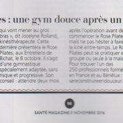 Santé Magazine Méthode Rose Pilates
